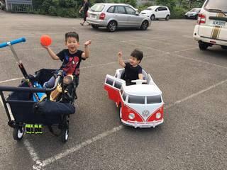 露營拉車-CZ Travel Wagon-超豪華兒童推車-寵物推車-開箱