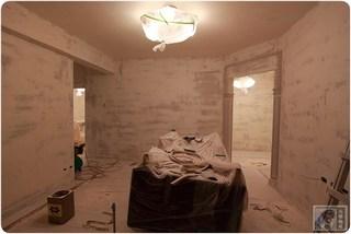 我的小資裝修-裝潢第三階段-水電-木工-油漆-全室批土-粉塵無所不在