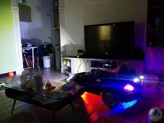 賓士-SLS-改裝-藍芽2.4G-40A大電流-大馬力-簡易燈光-兒童超跑-兒童電動車