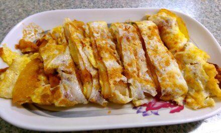 花蓮美食-早餐-幸福好吃的傳統古早味蛋餅-中福蛋餅-啞巴蛋餅