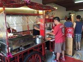 樹林美食-台式早午餐-碳厚囍-碳烤吐司-大腸包小腸