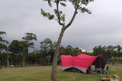 大腸家首露-桃園中壢-水樂活親子農場-露營單飛一打二初體驗