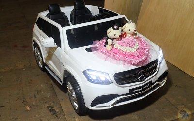 樂園毒-兒童超跑出租-新車入倉-授權童車-BENZ 賓士 GLS63