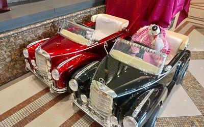 樂園毒-兒童超跑出租-新車入倉-授權童車-BENZ賓士-300S-紅