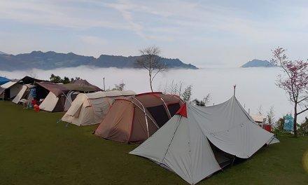 苗栗泰安-洗水山露營區-第七露-天氣不好出大景-漂亮的雲海如仙境