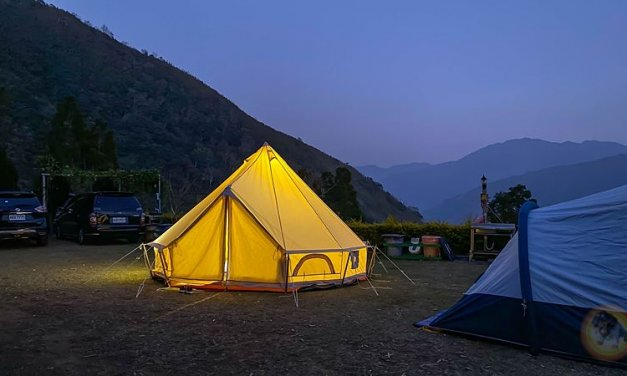 新竹五峰-雲起露營區-看雲海, 日出, 高海拔避暑玩水-第18露