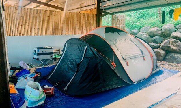 宜蘭大同-大同圓頂360露營區-應該是最經典的一次救火露營